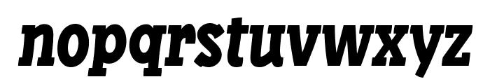 Libertatus-Italic Font LOWERCASE