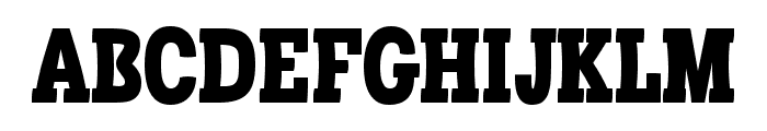 Libertatus-Regular Font UPPERCASE