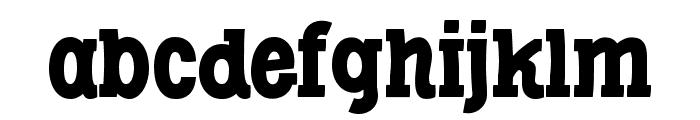 Libertatus-Regular Font LOWERCASE