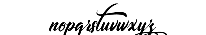 Libertinage Font LOWERCASE