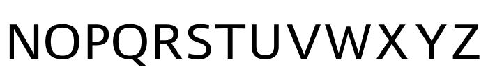 Liberty Sans Regular Font UPPERCASE