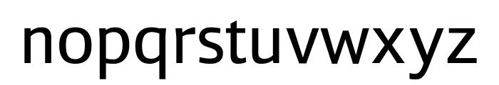 Liberty Sans Regular Font LOWERCASE