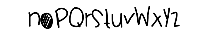 LibertySails Font LOWERCASE