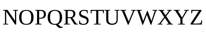 LibraSerifModern-Regular Font UPPERCASE