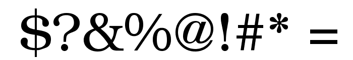 Librarian Regular Font OTHER CHARS
