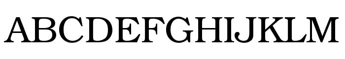 Librarian Regular Font UPPERCASE