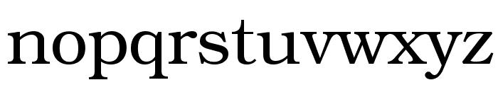 Librarian Regular Font LOWERCASE