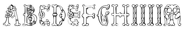 Library-of-Minerva--9th-c- Font LOWERCASE