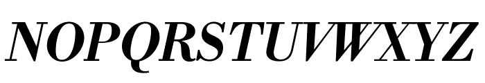 Libre Bodoni Bold Italic Font UPPERCASE