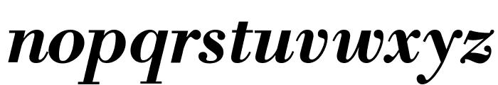 Libre Bodoni Bold Italic Font LOWERCASE