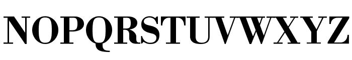 Libre Bodoni Bold Font UPPERCASE