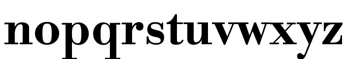 Libre Bodoni Bold Font LOWERCASE