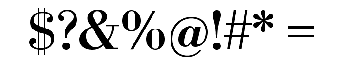 Libre Bodoni Font OTHER CHARS