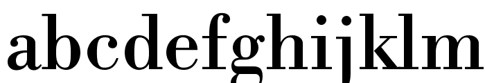 Libre Bodoni Font LOWERCASE