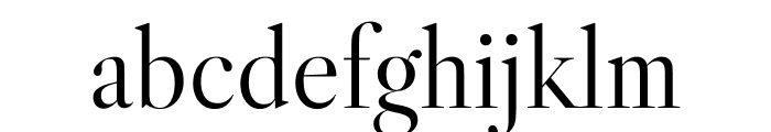 Libre Caslon Display Font LOWERCASE