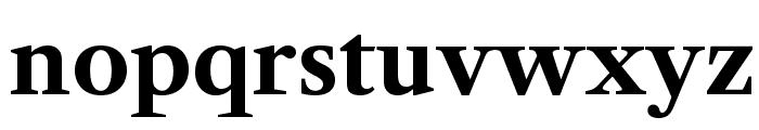 Libre Caslon Text Bold Font LOWERCASE
