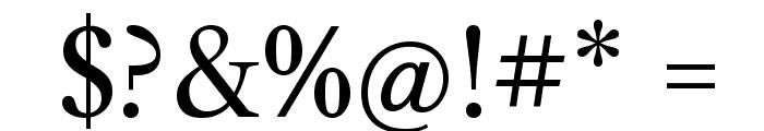 Libre Caslon Text Font OTHER CHARS