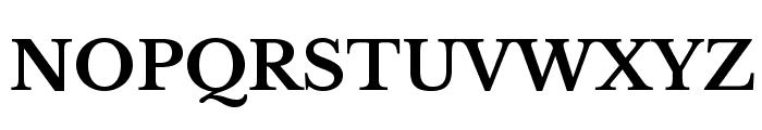 LibreBaskerville-Bold Font UPPERCASE