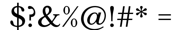 LibreBaskerville-Regular Font OTHER CHARS