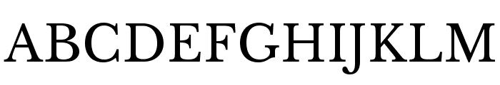 LibreBaskerville-Regular Font UPPERCASE