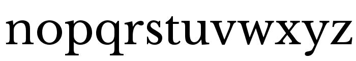 LibreBaskerville-Regular Font LOWERCASE