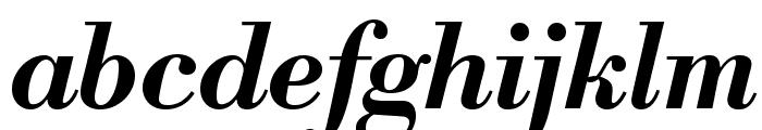 LibreBodoni-BoldItalic Font LOWERCASE