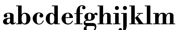 LibreBodoni-Bold Font LOWERCASE