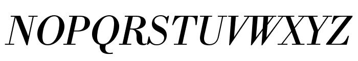LibreBodoni-Italic Font UPPERCASE