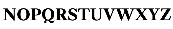 LibreCaslonText-Bold Font UPPERCASE