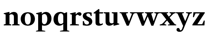 LibreCaslonText-Bold Font LOWERCASE