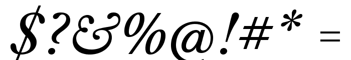 LibreCaslonText-Italic Font OTHER CHARS