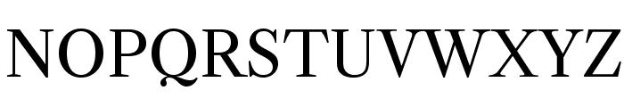 LibreCaslonText-Regular Font UPPERCASE