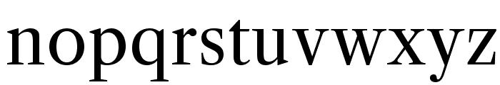 LibreCaslonText-Regular Font LOWERCASE