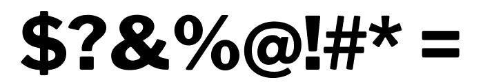 LibreFranklin-ExtraBold Font OTHER CHARS