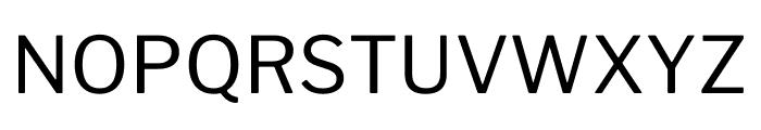 LibreFranklin-Regular Font UPPERCASE
