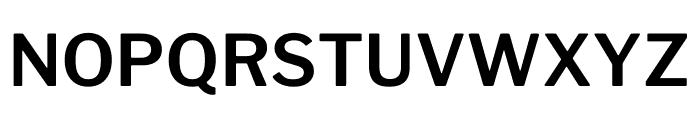 LibreFranklin-SemiBold Font UPPERCASE