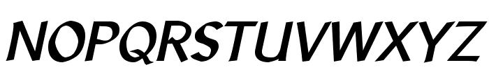 LibrisADFStd-BoldItalic Font UPPERCASE