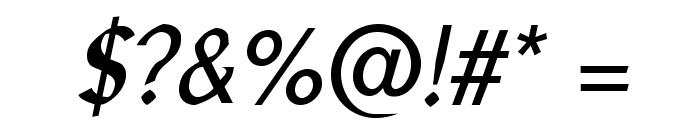 LibrisADFStd-Italic Font OTHER CHARS