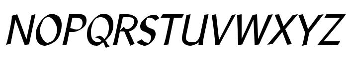 LibrisADFStd-Italic Font UPPERCASE