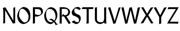 LibrisADFStd-Regular Font UPPERCASE