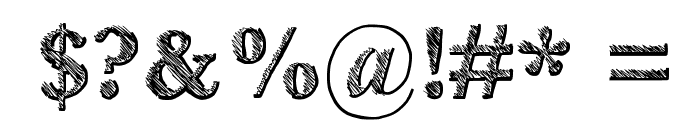 Libro Font OTHER CHARS