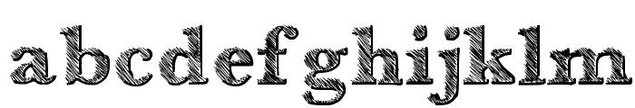 Libro Font LOWERCASE