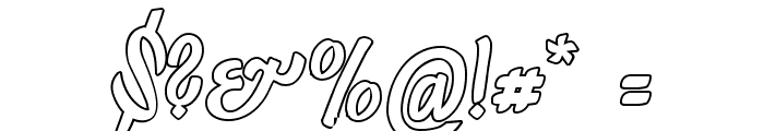 LichteGraphicCAT Font OTHER CHARS
