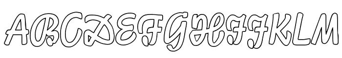LichteGraphicCAT Font UPPERCASE