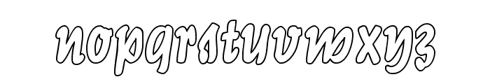 LichteGraphicCAT Font LOWERCASE