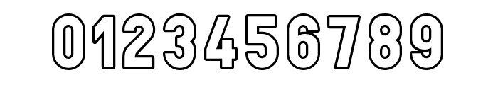 LichtePostBus Font OTHER CHARS