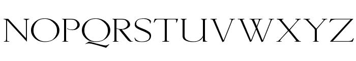 Lichtner Wd Font UPPERCASE