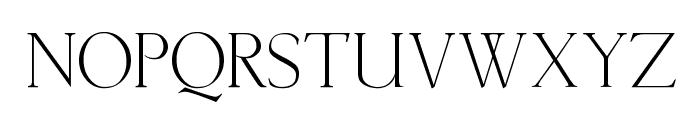Lichtner Font UPPERCASE