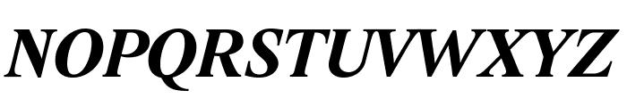 Lido STF CE Bold Italic Font UPPERCASE