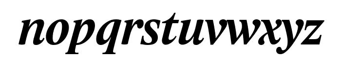 Lido STF CE Bold Italic Font LOWERCASE